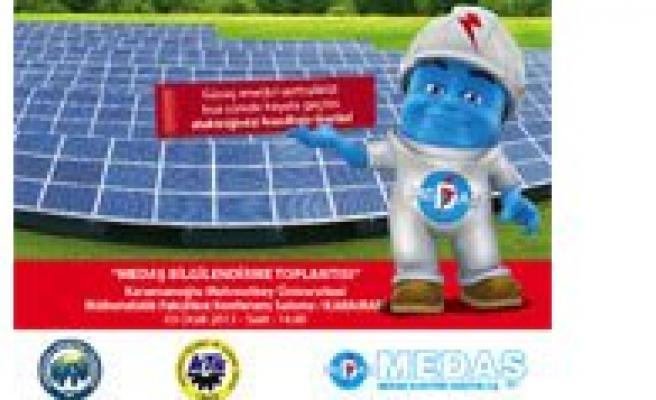Yenilebilir Enerji Kaynaklari Konulu Bilgilendirme Toplantisi Yapilacak