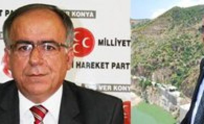 MHP Konya Milletvekili Kalayci, Bakan Eroglu'na Sariveliler HES'i Sordu