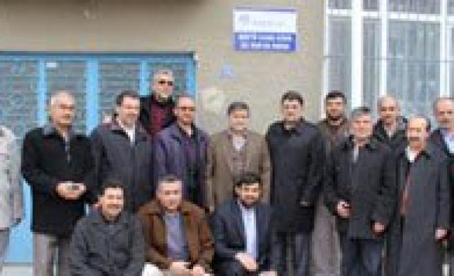 Emekli Müftü Ilhan Aydin'in Ismi Kuran Kursuna Verildi