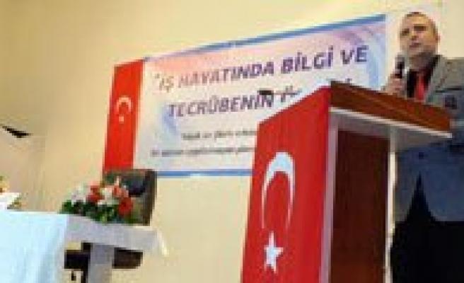 """Isadami Feyzullah Ertas'tan Kmü'lü Ögrencilere Ögüt: """"Basarinin Sirri Dürüstlükten Geçer"""""""