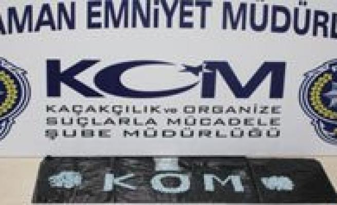 Karaman'da Uyusturucu Operasyonu