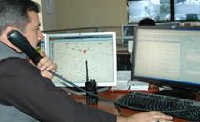 Karaman`da 2012 Yilinda 155 Polis Imdat 13 Bin 693 Kez Arandi