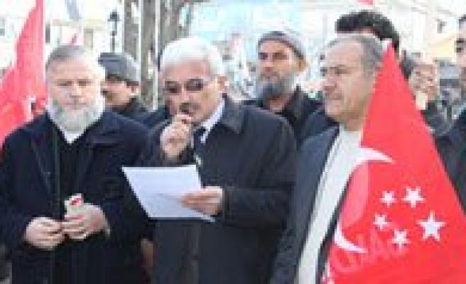 """Saadet Partisi Il Baskani Sahin:""""Bu Topraklar Nato Topragi Degil Islam Topragidir"""""""