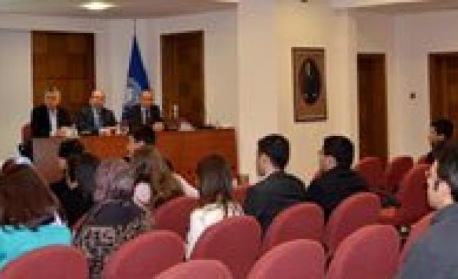 KMÜ, ÖYP'li Arastirma Görevlileriyle Istisare Toplantisi Yapti