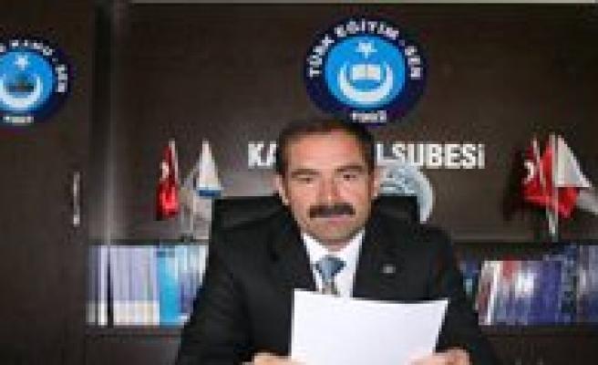 Türk Egitim-Sen'den Sube Müdürlügü Atamalari Degerlendirmesi