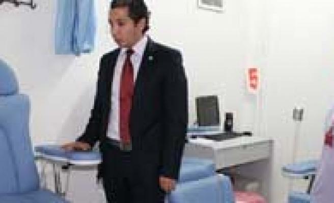 Karaman Devlet Hastanesi Kan Alma Ünitesi Yenilendi