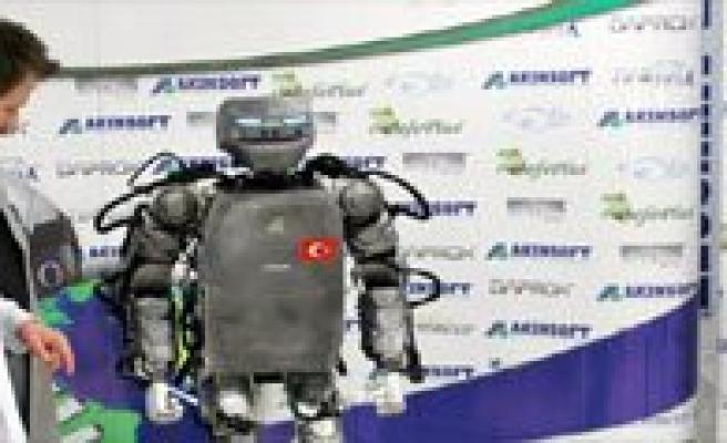 Iste Yerli Insansi Robot!