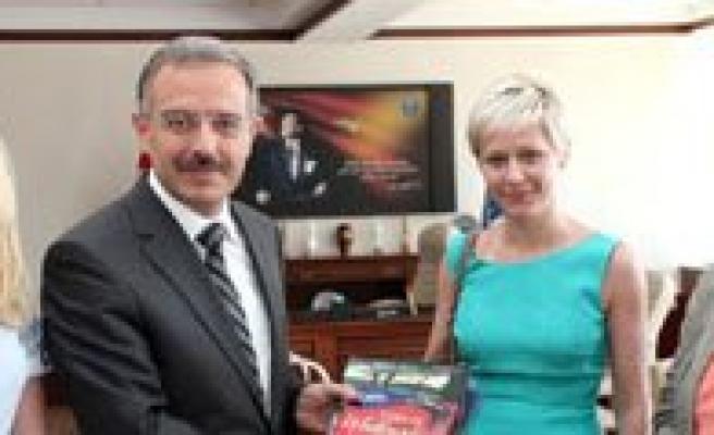 Erasmus Kapsaminda KMÜ'ye Ilk Yabanci Akademisyenler Geldi
