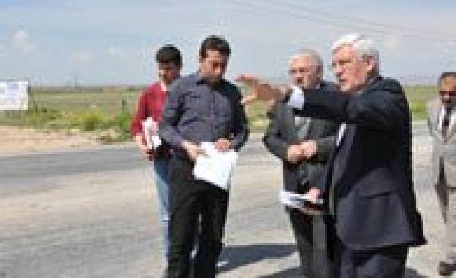 Karaman-Eregli Yol Insaati Incelendi