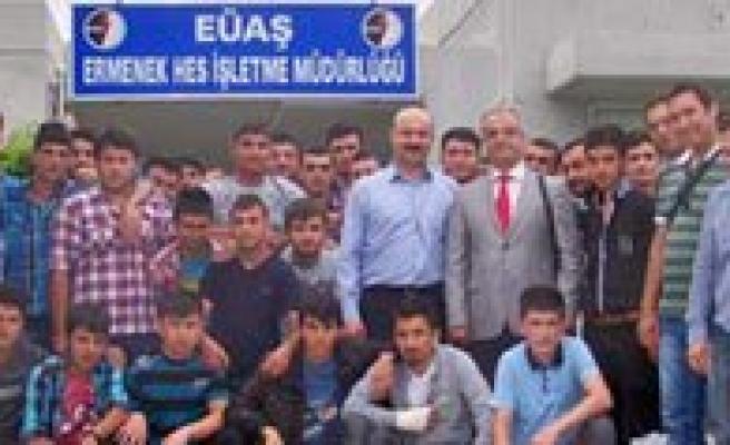 Ermenek Meslek Yüksekokulu'ndan HES'e Teknik Gezi