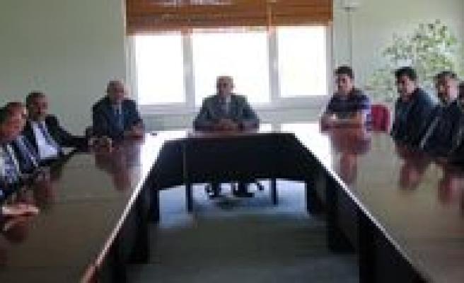TSO Yönetiminden Borsa Yönetimine Tebrik Ziyareti