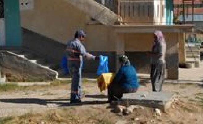 Karaman Belediyesi Kurban Bayrami Öncesi 75 Bin Poset Dagitti