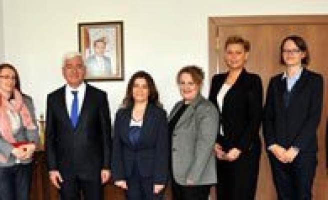 Polonya Bölgesel Yönetimi`nden Vali Koca`ya Ziyaret