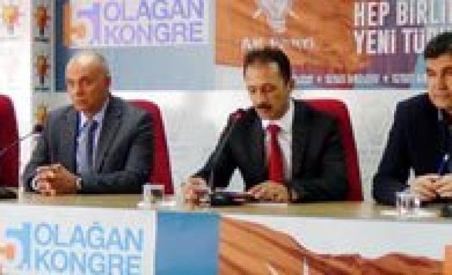 Karaman AK parti'de 5. Olagan kongre süreci basladi