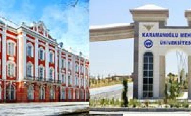 KMÜ Ile Saint Petersburg Üniversitesi Ikili Anlasma Imzaladi