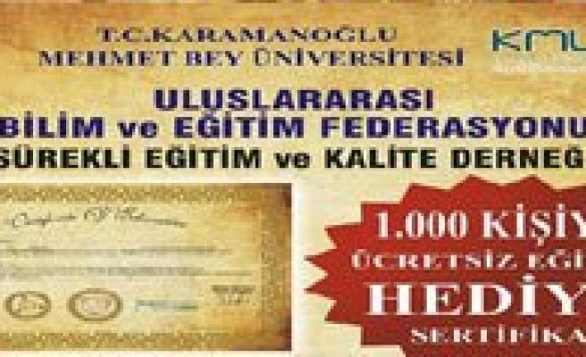 KMÜ'de Ücretsiz Kariyer Planlama Egitimleri