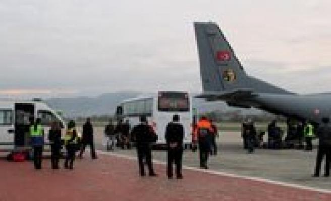 Zonguldak'tan Karaman'a TTK Tahlisiye Ekibi Hava Yoluyla Gidiyor