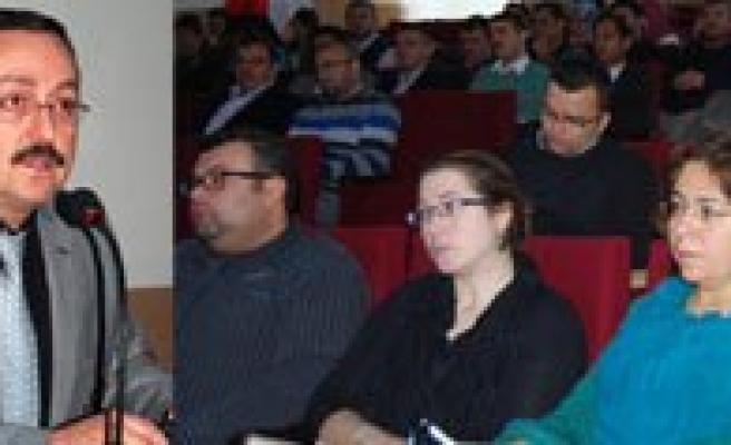 KMÜ'de Sosyal Bilimler Alaninda Tübitak Projesi Hazirlama Egitimi Verildi