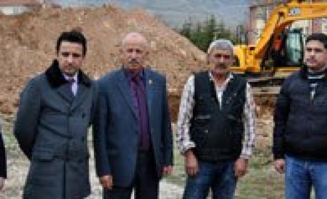 Kazim Karabekir Ilçe Hastanesi'nde Hafriyat Çalismalari Basladi