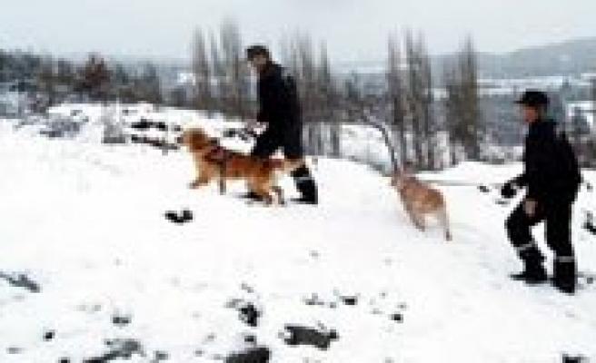 Karaman'da Karda Kaybolan Iki Kisiyi Jandarma Buldu