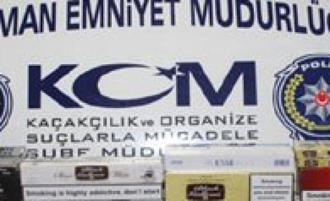 Bin 500 Paket Kaçak Sigara Ele Geçirildi