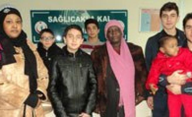 Saglicakla Kal Projesi'ni Yabanci Uyruklu Hastalarda Sevdi