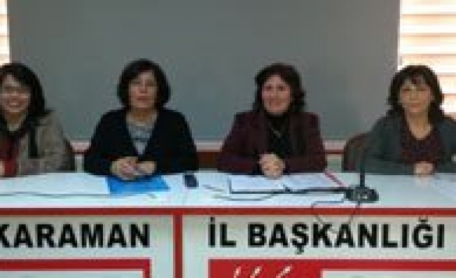CHP'li Hanimlar: Acilarimiza Tuz Basilir Oldu