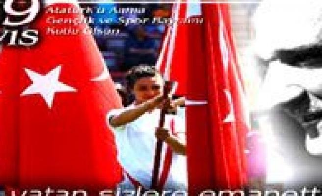 19 Mayis Atatürk'ü Anma Gençlik Ve Spor Bayramini Kutluyoruz