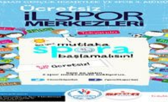 Karaman'da Ücretsiz Yaz Spor Okullari Basliyor