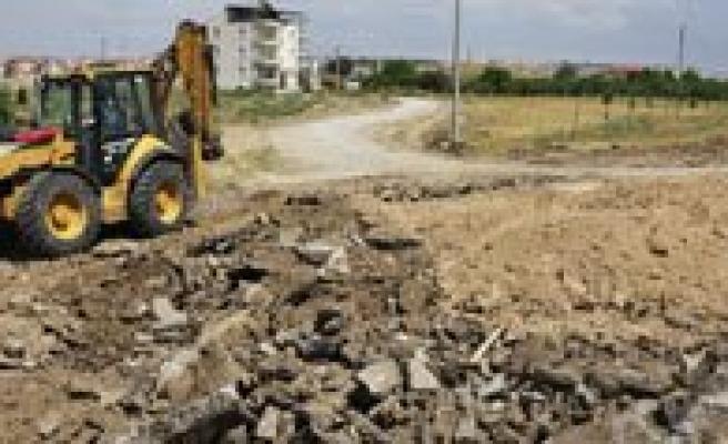 Karaman Belediyesi`nden Mersin Yolu`na Alternatif Yol