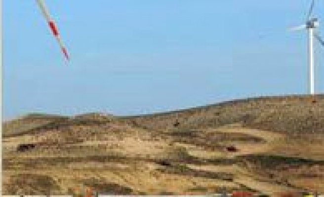 Karaman'in Ilk Rüzgâr Gülü Devrede