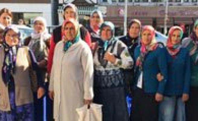 Kadin Çiftçiler Ankara Beypazarin'da