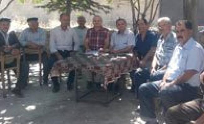 Süleymanhaci'da Toprak Dagitimiyla Ilgili Bilgilendirme Toplantisi Yapildi