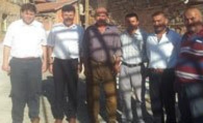 Kizilyaka Köyüne Ahmet Hasim Keskin'den Ziyaret