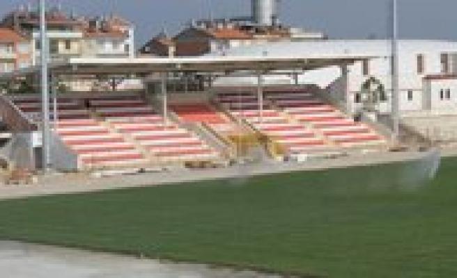 Kemal Kaynas Stadyumu'nun Geçici Kabulü Yapilacak