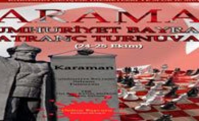 Cumhuriyet Bayrami Satranç Turnuvasi Yapilacak