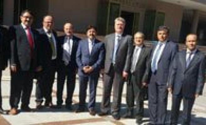 Karaman SMMM Odasi'ndan Ankara`daki Karaman`li Bürokratlara Ziyaret