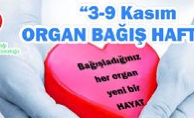 Organ Bagisi Haftasi Etkinligi Düzenlenecek