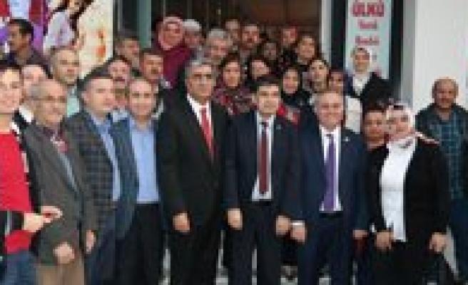 AK Parti Milletvekilleri Konuk ve Seker'den Ilçelere Tesekkür Ziyareti