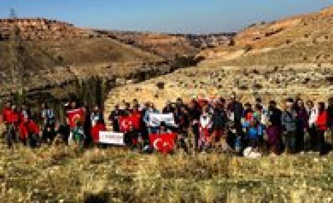 KARDOF Ayranci Ve Taskale'de Yürüdü