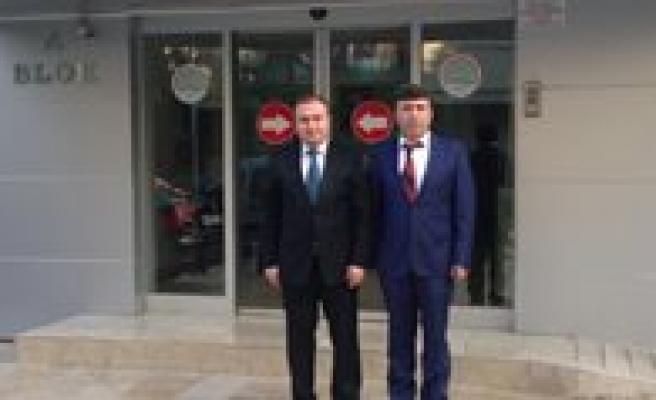 Keskin, Konya Il Gida, Tarim Ve Hayvancilik Müdürlügünü Ziyaret Etti