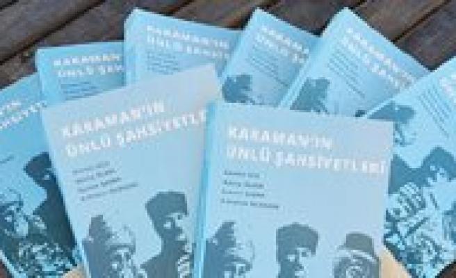 Karaman'in Ünlüleri Kitap Oldu