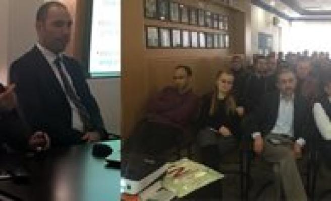 Karaman SMMM Odasi E-Defter, E-Fatura Ve E-Arsiv Fatura Konulu Seminer Verdi