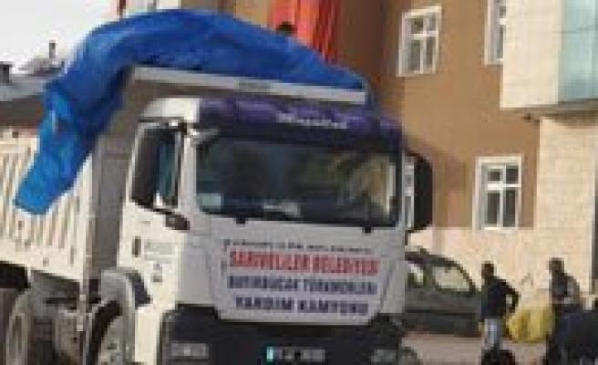 Sariveliler'den Bayir-Bucak Türkmenlerine Yardim