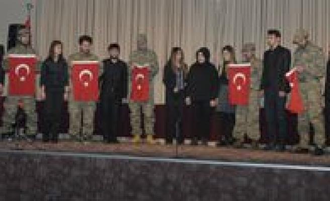 KMÜ'de Sarikamis Sehitlerini Anma Programi Düzenlendi