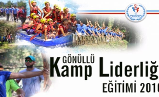 Gönüllü Kamp Liderliği Eğitimi Yapılacak