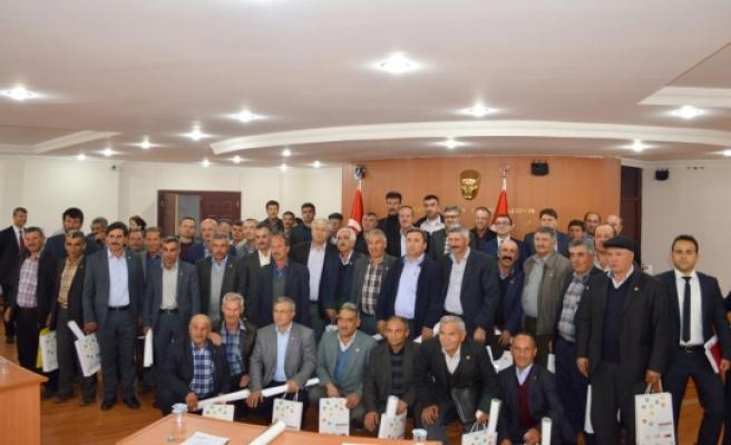 Karaman Belediyesi Kent Konseyi Köy Muhtarlarıyla Bir Araya Geldi