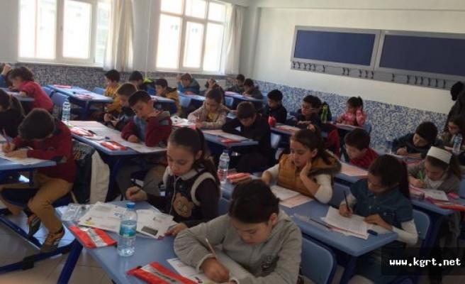 Babaoğlu Koleji'ne Giriş Sınavı Tamamlandı