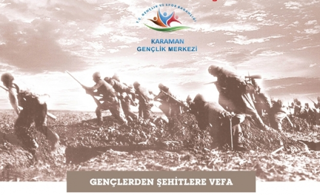 Karaman'da 57. Alay Çanakkale Vefa Yürüyüşü