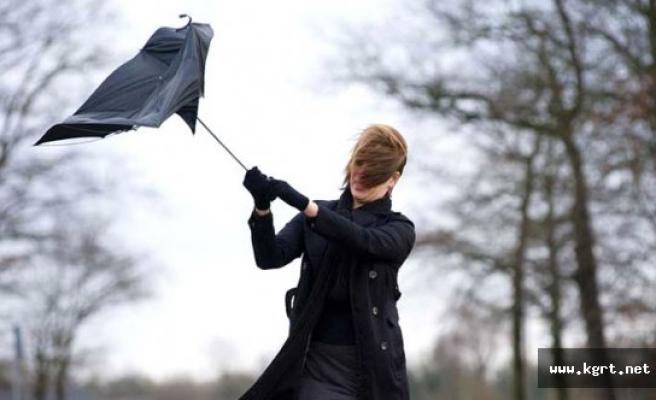 Kuvvetli Rüzgâr Ve Fırtına Bekleniyor